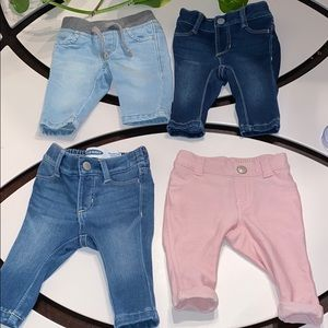 Infant Girls Old Navy Jeans Size 0/3 Months